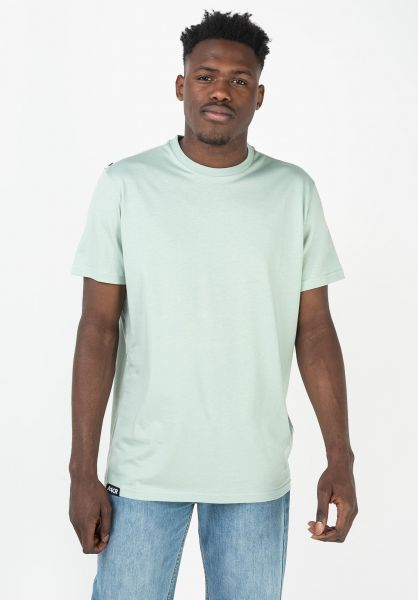 AEVOR T-Shirts Base Tee bluesurf vorderansicht 0322328