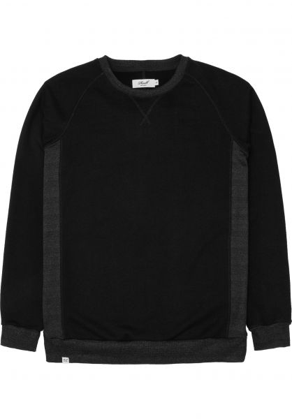Reell Sweatshirts und Pullover Crewneck black Vorderansicht