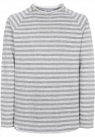 Reell Longsleeves Striped darkgrey-lightgrey Vorderansicht