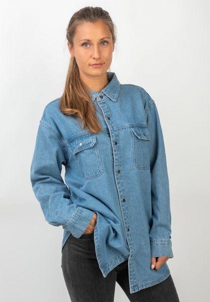 TITUS Hemden langarm Nora blue-bleached vorderansicht 0411859