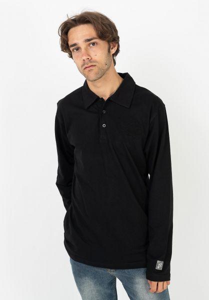 Fourasses Polo-Shirts RWS black vorderansicht 0138434