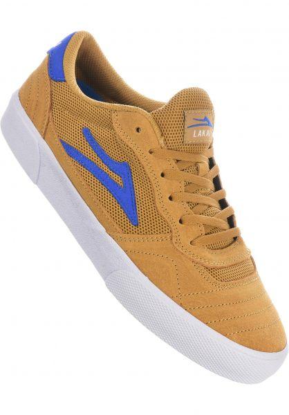 Lakai Alle Schuhe Cambridge gold-gum vorderansicht 0604604