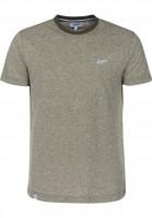 Reell-T-Shirts-Pique-olive-Vorderansicht