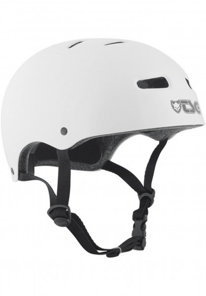 TSG Helme Skate/BMX Solid Colors injected white Vorderansicht