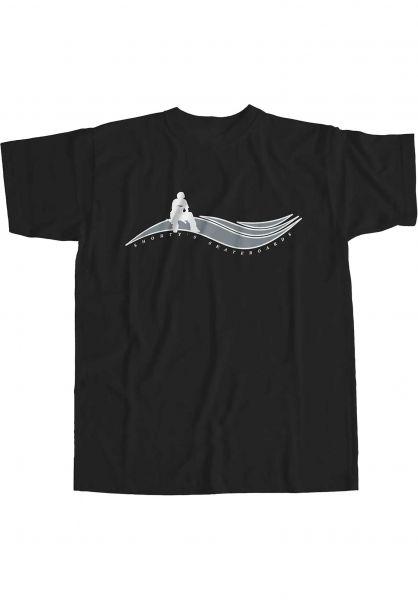 Shortys T-Shirts Muska Wave black vorderansicht 0323887