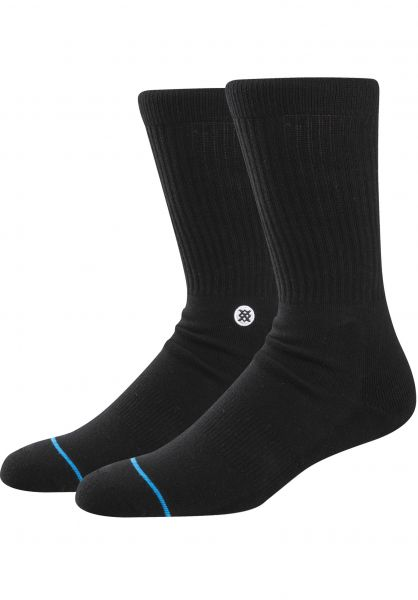 Stance Socken Icon black-white Vorderansicht