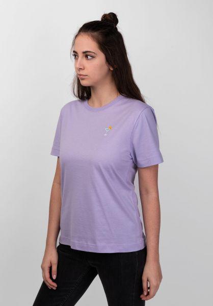 Dedicated T-Shirts Mysen Cocktail violettulip vorderansicht 0399202