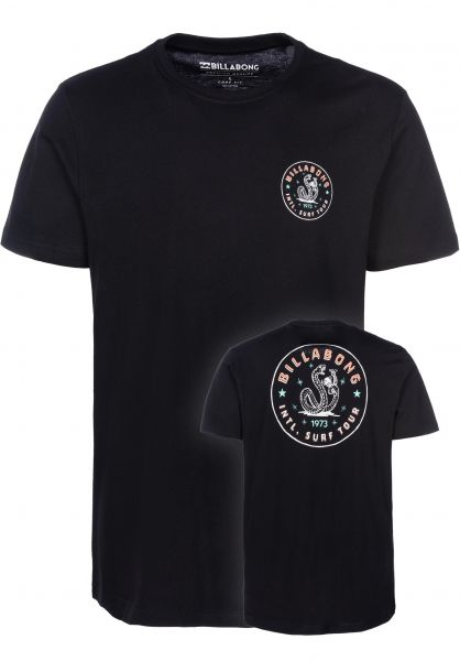 Billabong T-Shirts Cali Baja black vorderansicht 0398717