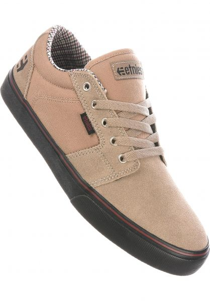 Barge LS etnies All Shoes in tan-black