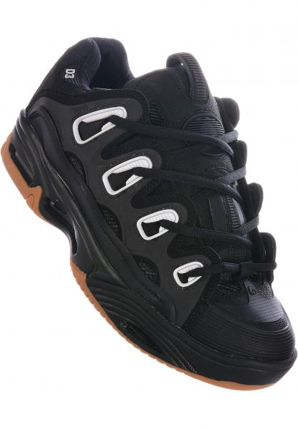 D3 2001 Osiris All Shoes in black-gum