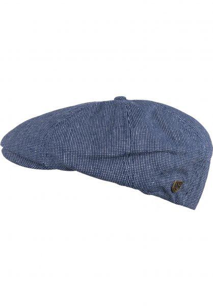 Brixton Hüte Brood navy-offwhite Vorderansicht