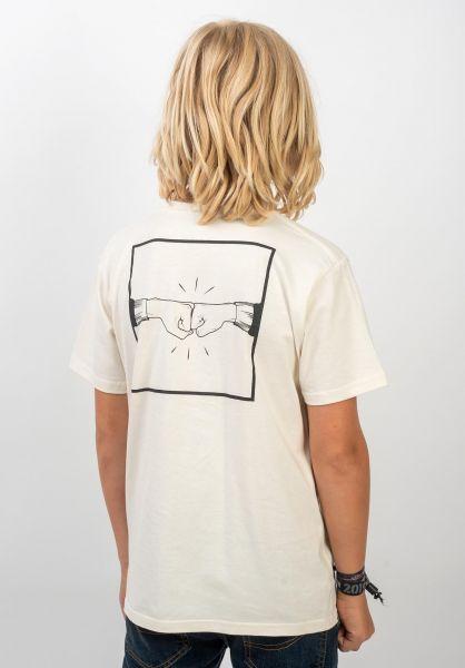 TITUS T-Shirts Emin Kids Backprint offwhite vorderansicht 0399250