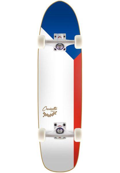 Cruisette Skate Co. Cruiser komplett Plaza white vorderansicht 0252849