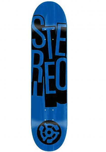 Stereo Skateboard Decks Stacked Price Point blue Vorderansicht