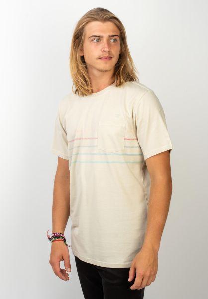 Billabong T-Shirts Spinner Crew rock vorderansicht 0320138