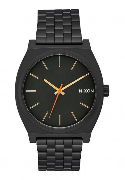 Nixon Uhren The Time Teller allblack-surplus Vorderansicht