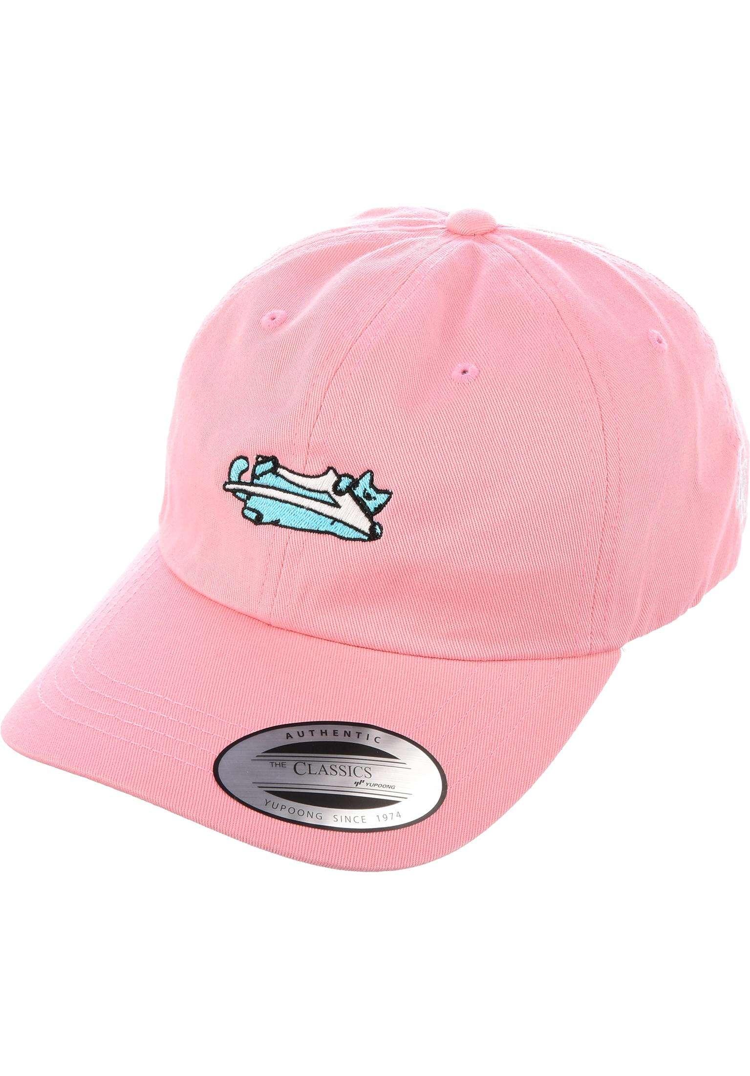 Leon Dad Hat Lakai Caps in pink for Men  33c3b58f001