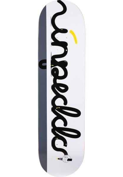 Inpeddo Skateboard Decks Pencil black-yellow vorderansicht 0261538