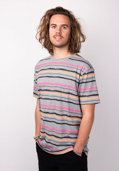 TITUS T-Shirts Hendirk multi-striped vorderansicht 0399109