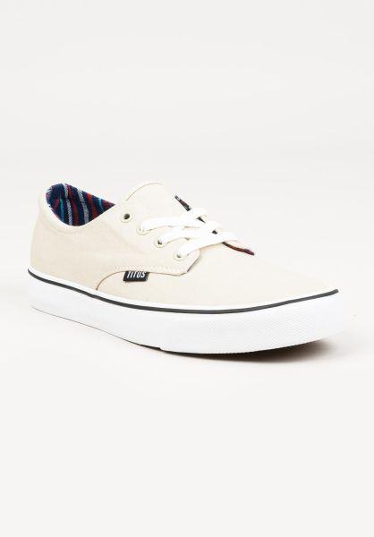 TITUS Alle Schuhe Clubman lightgrey-white vorderansicht 0604300