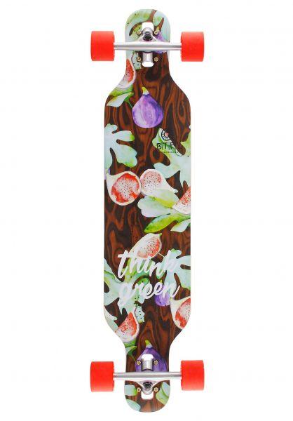 BTFL Longboards Longboards komplett Yuva DT multicolored vorderansicht 0194347