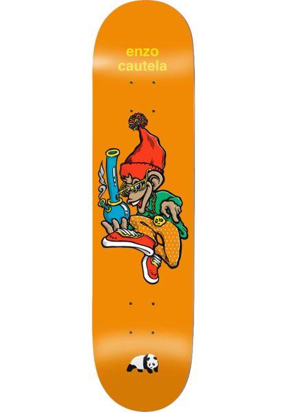 Enjoi Skateboard Decks Enzo What´s The Deal orange vorderansicht 0262603