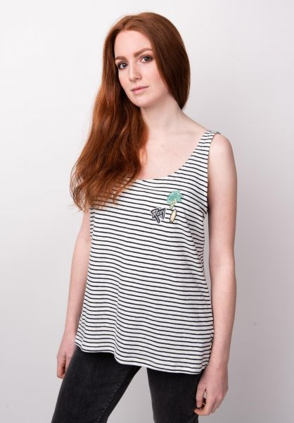 Roxy Tops For You My Love black-striped vorderansicht 0352458