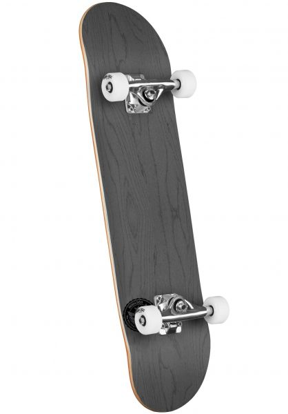 Mini-Logo Skateboard komplett ML Chevron Stamp - Shape 291 dyed grey vorderansicht 0162203