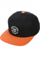 Brixton Caps Oath III blackburnt-orange Vorderansicht