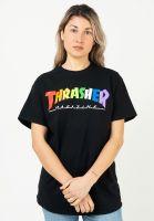 thrasher-t-shirts-rainbow-mag-unisex-black-vorderansicht-0323621