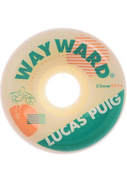 Wayward Rollen Puig Hurdle 101A Funnel Cut white vorderansicht 0134505