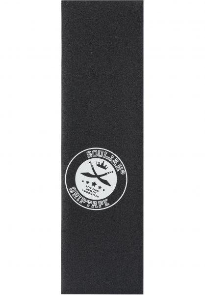 Souljah Griptape Griptape Big Logo black-white vorderansicht 0142579