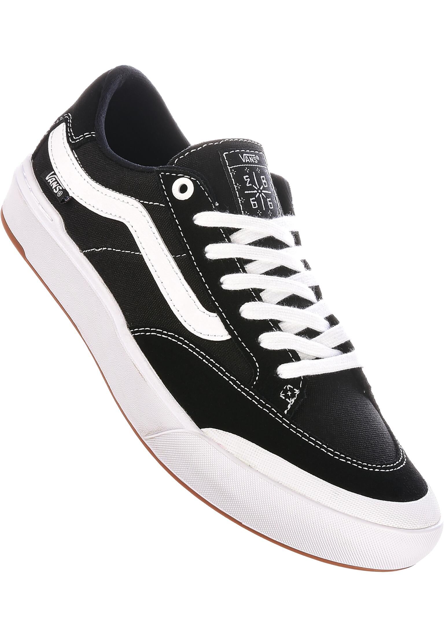 bbb9f45328d Berle Pro Vans All Shoes in black-white for Men