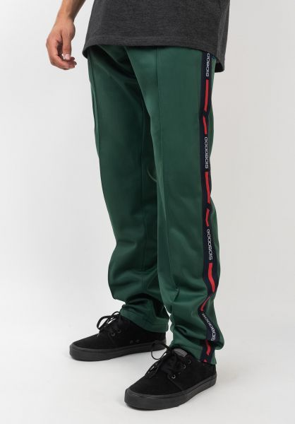 Goodbois Jogginghosen Official Track Pants green vorderansicht 0680232