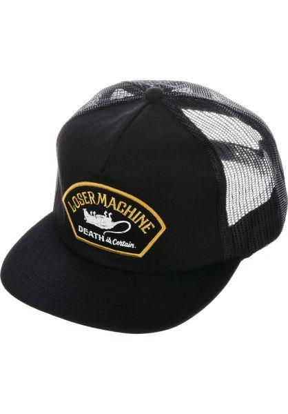 Loser-Machine Caps Marshall black vorderansicht 0566019