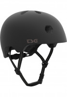 TSG Helme Meta Solid Color satin-black Vorderansicht