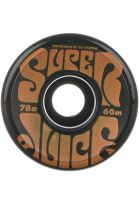 OJ Wheels Rollen Super Juice 78A black Vorderansicht