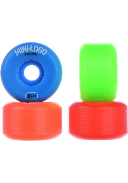 Mini-Logo Rollen A-Cut #2 Hybrid 90A multicolored vorderansicht 0134158