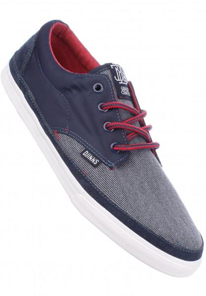 Djinns Alle Schuhe Nice Heavy Oxford navy Vorderansicht