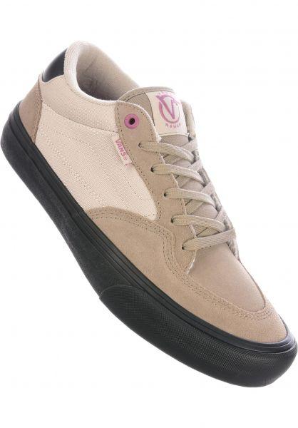 Vans Alle Schuhe Rowan Pro deserttaupe-black vorderansicht 0604757