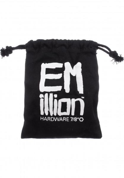 """EMillion Montagesätze 7/8""""-Allen black Vorderansicht"""