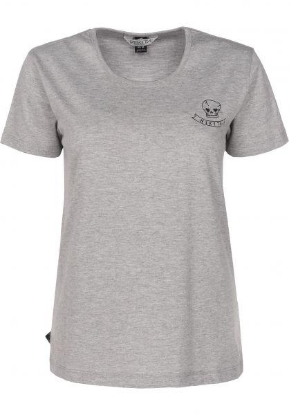Nikita T-Shirts Veruca heathergrey Vorderansicht