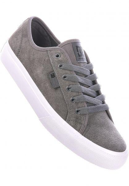 DC Shoes Alle Schuhe Manual S grey vorderansicht 0604948
