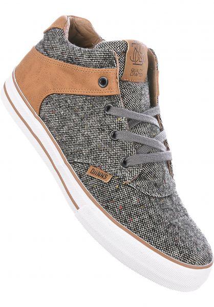 Djinns Alle Schuhe Chunk Spotted Tweed grey Vorderansicht