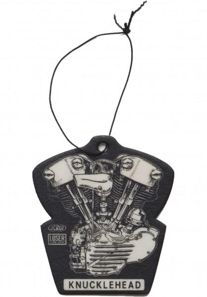 Loser-Machine Verschiedenes Knuckle Air Freshener black Vorderansicht