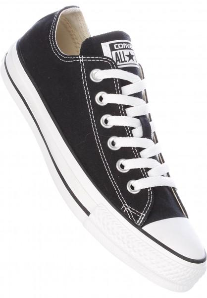 Converse Alle Schuhe Chuck Taylor Allstar OX black Vorderansicht