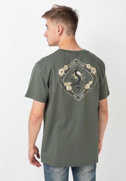 Rhythm T-Shirts Glide agave vorderansicht 0322247