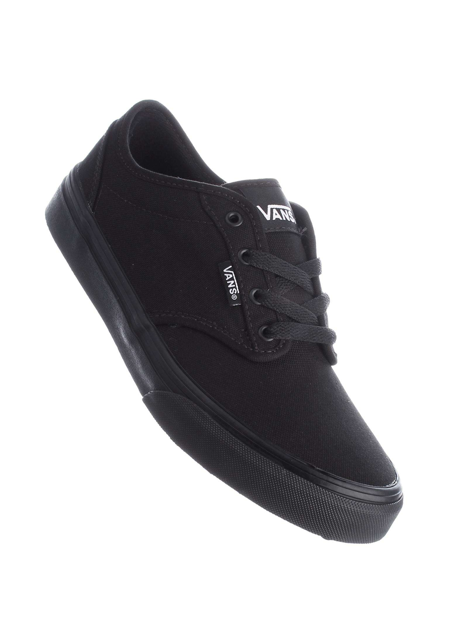 Atwood Kids Vans All Shoes in black-black for Kids  42650816e9e7