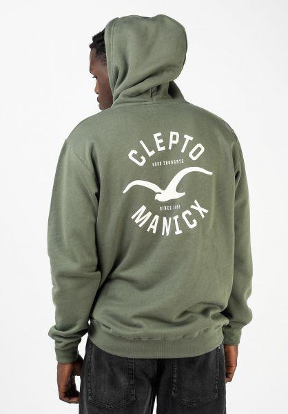 Cleptomanicx Hoodies Games thyme vorderansicht 0444469