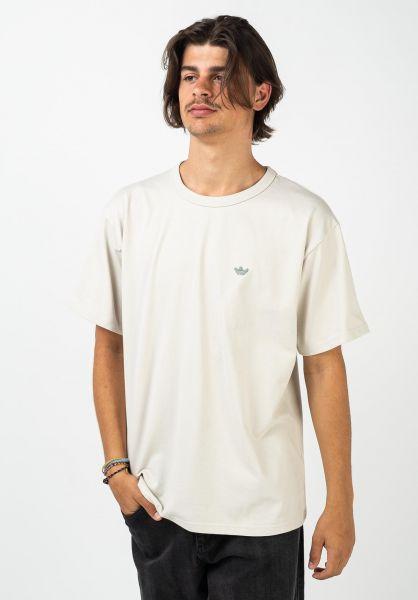 adidas-skateboarding T-Shirts Mini Shmoo alumin-creme vorderansicht 0321735